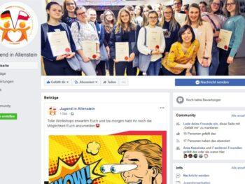 Neues Profil auf Facebook