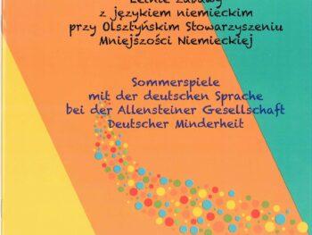 """Publikacja """"Letnie zabawy z językiem niemieckim"""""""